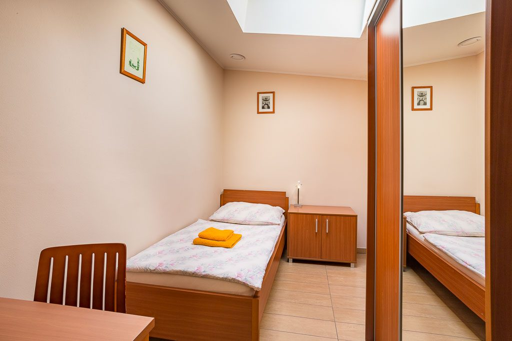 Jednolôžková izba City Penziónu Košice
